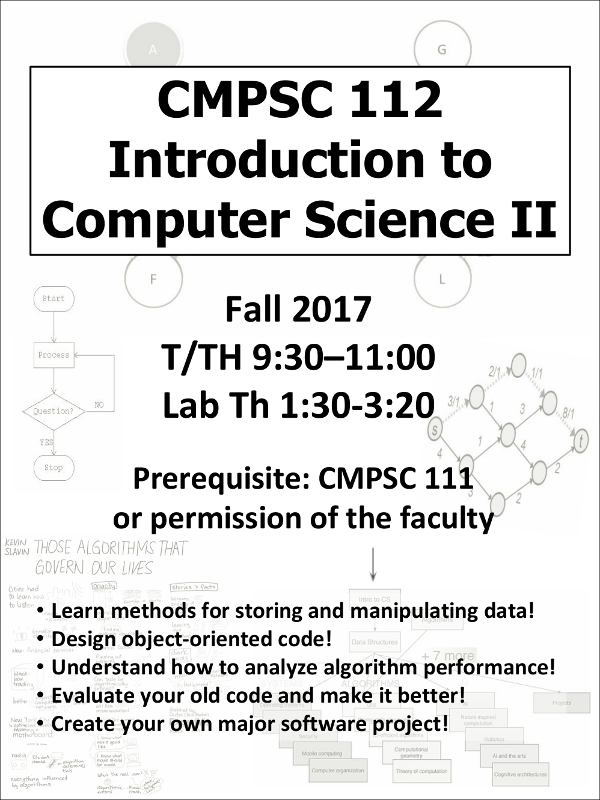 Computer Science 112 Fall 2017