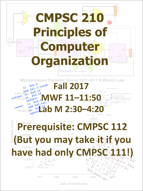 Computer Science 210 Fall 2017