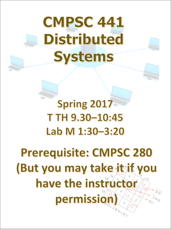 Computer Science 441 Spring 2018