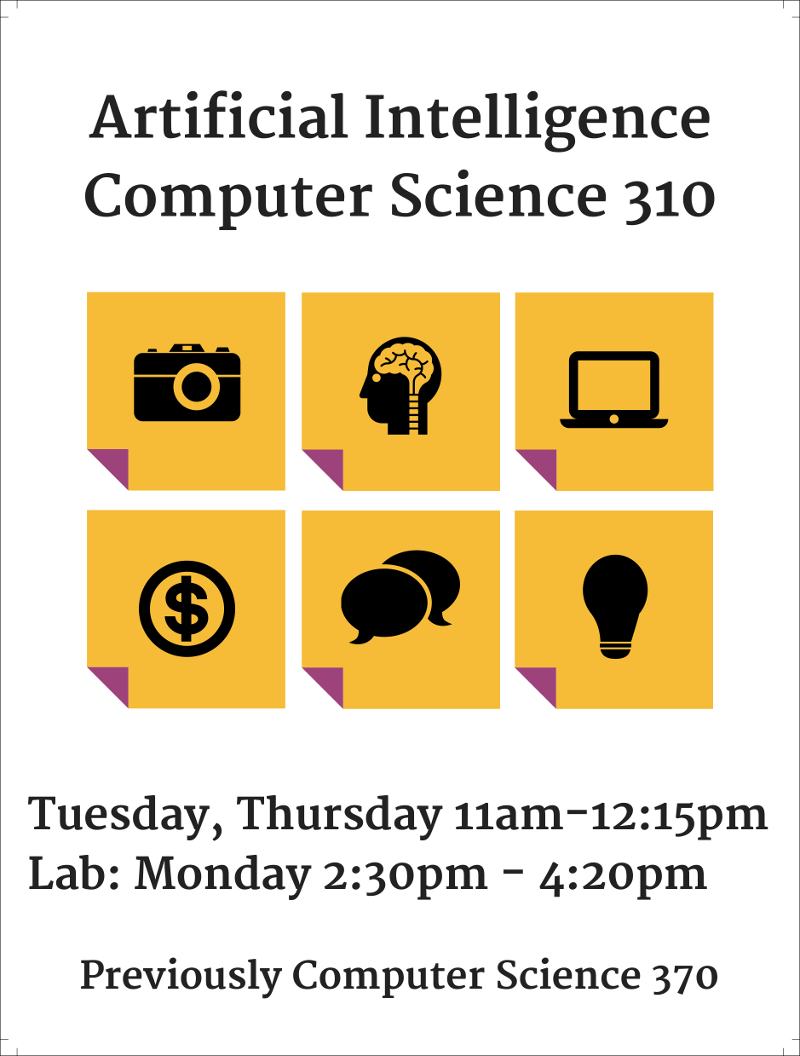 Computer Science 310 Fall 2018